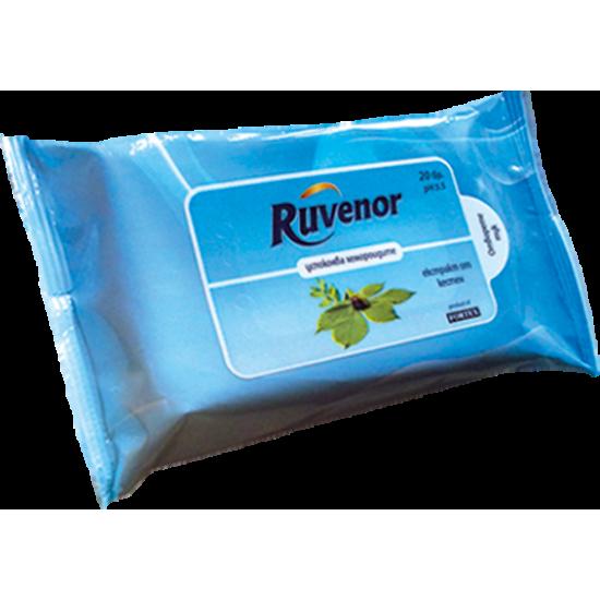 Рувенор влажни кърпи за хемороиди х 20 бр.