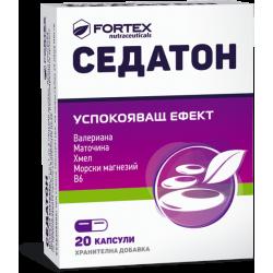 СЕДАТОН X 20 капсули Фортекс