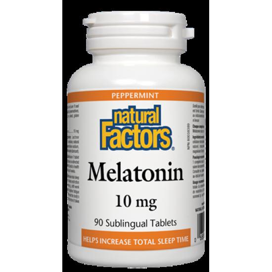 Мелатонин 10мг х 90 сублингвални таблетки