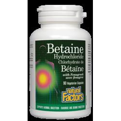 БЕТАИН  ХИДРОХЛОРИД 500 mg х 90