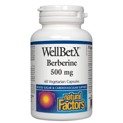 WellBetX®  БЕРБЕРИН 500 mg х 60