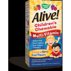 Алайв дъвчащи мултивитамини за деца x 120 табл