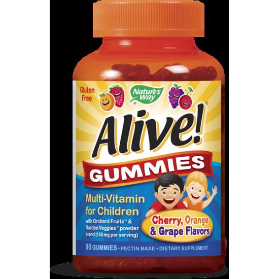 Алайв мултивитамини за деца 3.5 g х 90 желирани таблетки