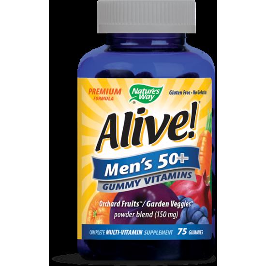 Алайв за мъже 50+ х 75 желирани таблетки