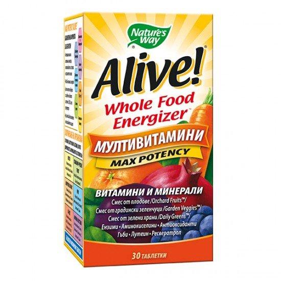 Алайв мултивитамини х 30 таблетки