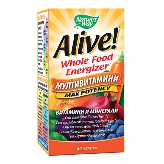 Алайв мултивитамини х 60 таблетки