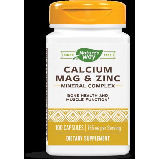 Калций, Магнезий, Цинк 765 mg х 100 капсули