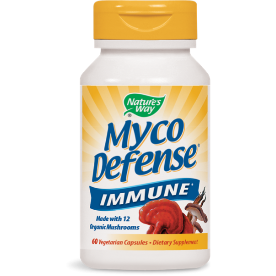 Мико Дифенс Комплекс от китайски гъби 555 mg х 60 капсули