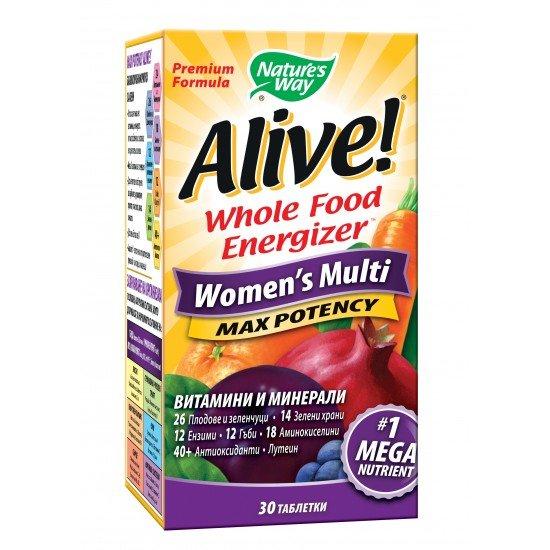 Алайв мултивитамини за жени х 30 таблетки