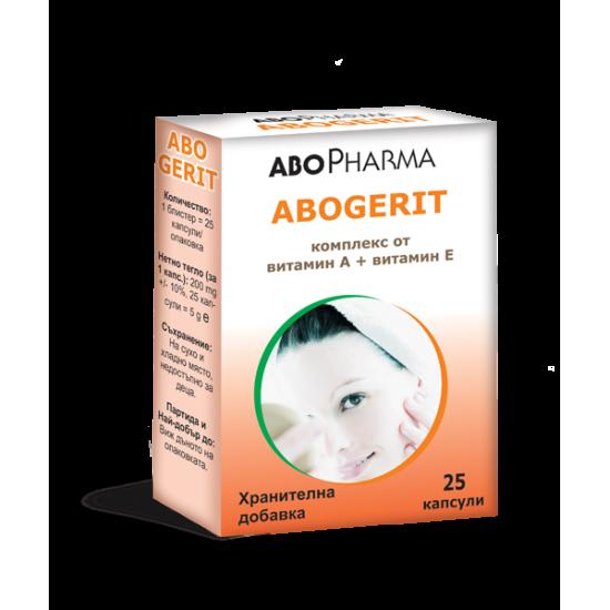 Абогерит Витамин A + Витамин Е х 25 капсули
