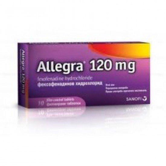 Алеgа при сенна хрема 120mg х 10 таблетки