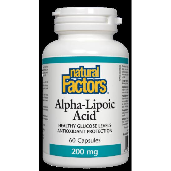 Алфа липоева киселина 200 mg х 60 капсули