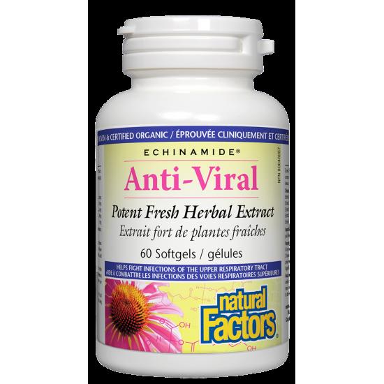 Анти-вирал 127 mg х 60 капсули