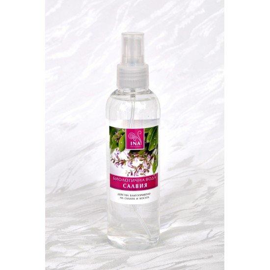 Био вода от салвия против пърхот и себорея спрей х 200 ml