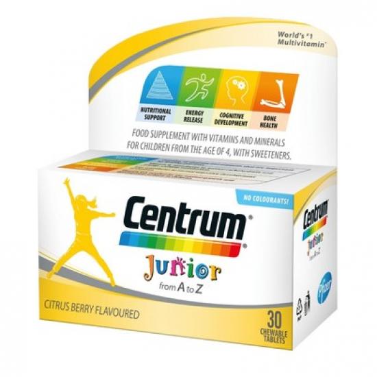 Центрум A-Z джуниър про х 30 таблетки
