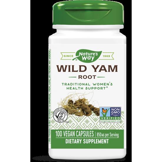 ДИВ  ЯМ/СЛАДЪК КАРТОФ (корен)  425 mg х 100