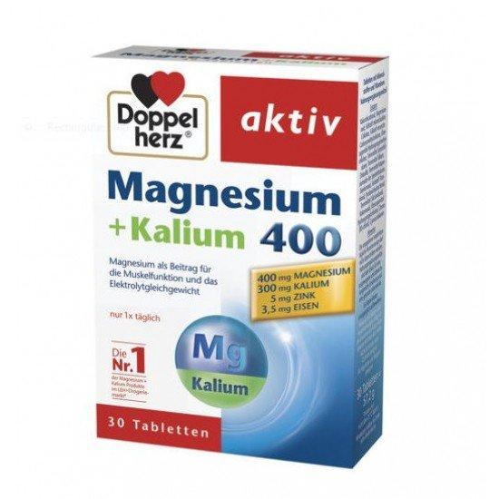 Допелхерц актив Магнезий + Калий х 30 таблетки
