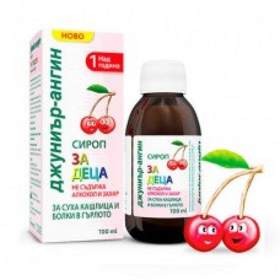 Джуниър-ангин сироп за деца х 100 ml