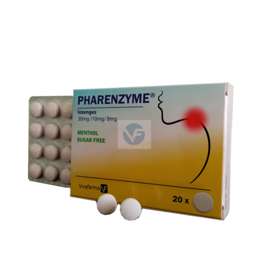 Фарензим x 20 таблетки за смучене