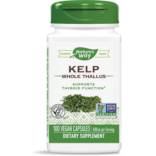 КЕЛП (кафяви водорасли)  600 mg х 100