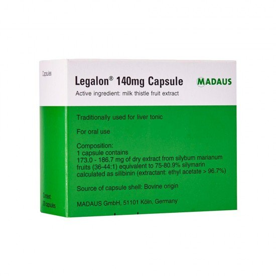 Легалон 140 mg х 20 капсули