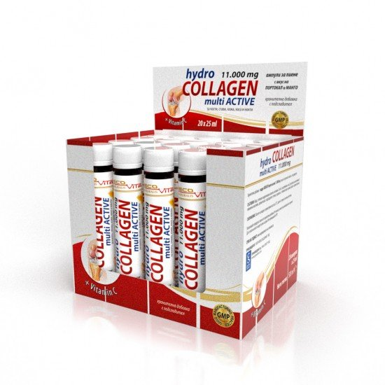 Лековита хидро колаген 11000 mg 25 ml х 20 ампули
