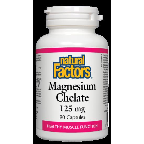 Магнезиев хелат, 125 мг Х 90