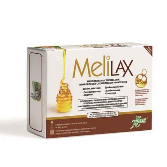 Мелилакс микроклизма за възрастни 10 g х 6 броя