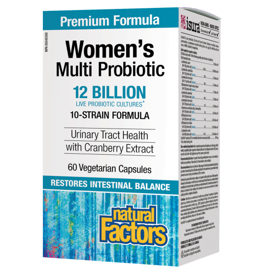 МУЛТИ ПРОБИОТИК ЗА ЖЕНИ 12 млрд.активни пробиотици с добавена Червена боровинка CranRich® 300 mg