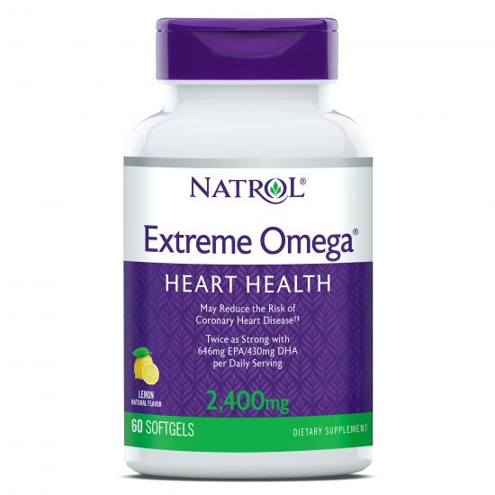 Натрол екстрийм омега 2400 mg х 60 капсули