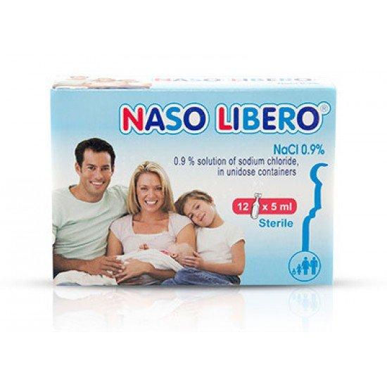 Назо Либеро физиологичен разтвор х 12 монодози