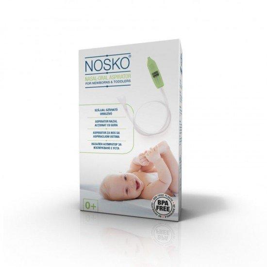 Носко бебе аспиратор за нос за изсмукване с уста