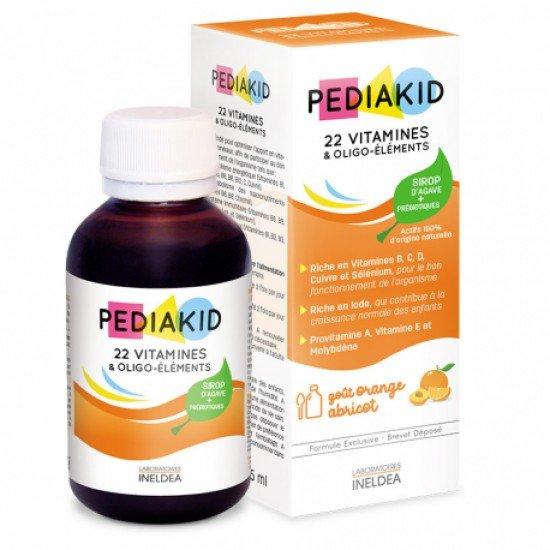 Педиакид 22 витамина сироп х 125 ml