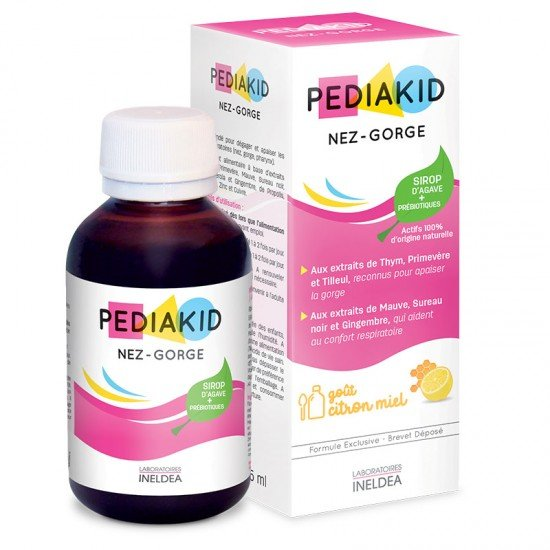 Педиакид нос и гърло сироп х 125 ml