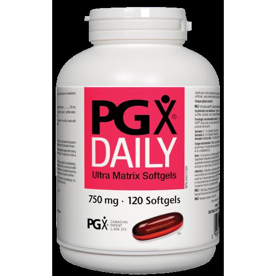 Pgx® Дейли ултра матрикс 750 mg х 120 софтгел капсули
