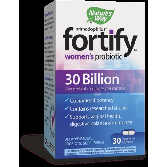 ПРИМАДОФИЛУС® FORTIFY™ ЗА ЖЕНИ 30 млрд. пробиотици х 30