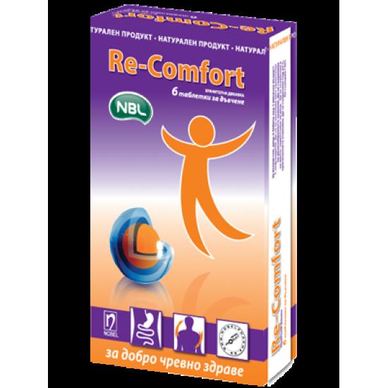 Ре-комфорт таблетки за дъвчене * 6