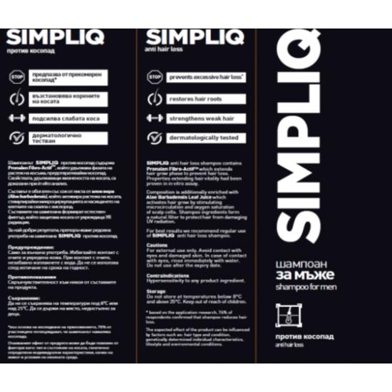 SIMPLIQ (Симплик ) шампоан п/в косопад