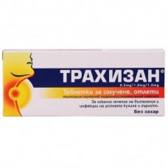 Трахизан х 20 таблетки за смучене