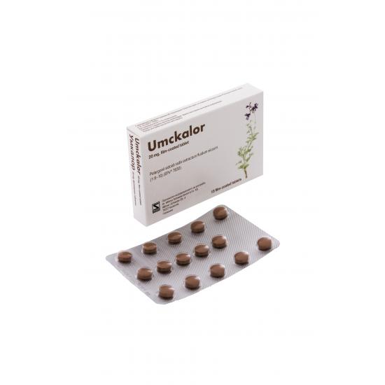 Умкалор 20 mg х 15 филмирани таблетки