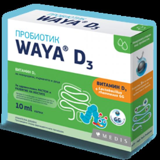 Вая пробиотик D3 сол х 10 ml