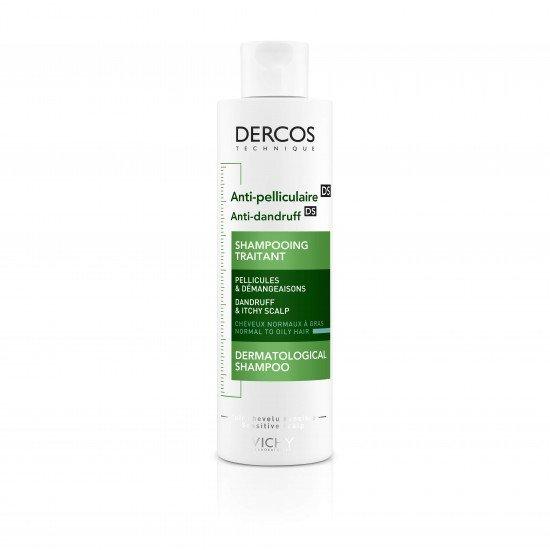Vichy Dercos шампоан против пърхот за нормален до мазен скалп х 200 ml
