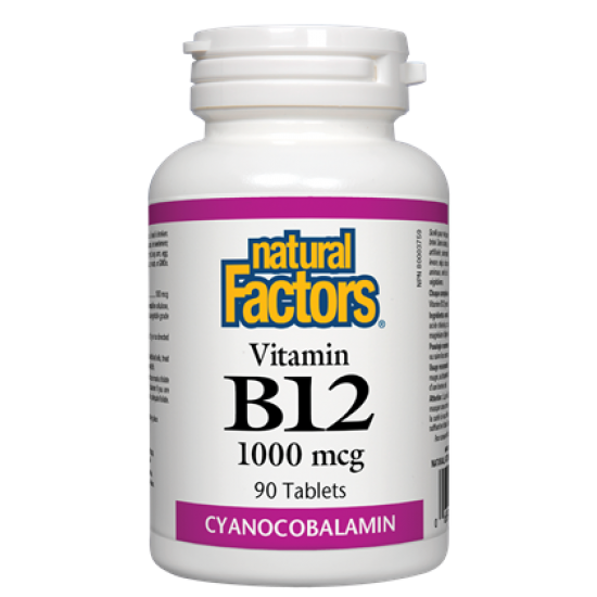 Витамин B12 1000 mcg х 90 таблетки