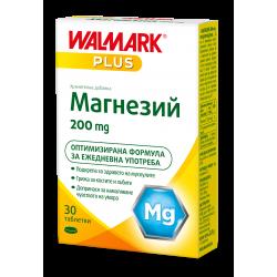 МАГНЕЗИЙ таблетки 200 мг * 30 ВАЛМАРК