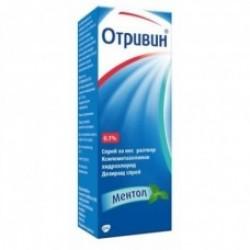 ОТРИВИН МЕНТОЛ спрей 0.1 % 10 мл